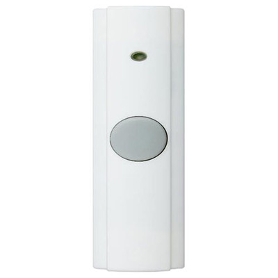NuTone Wireless Pushbutton, Learn Mode, White (Open Box)