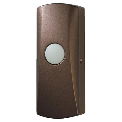 NuTone Wireless Pushbutton, Learn Mode, Oil-Rubbed Bronze