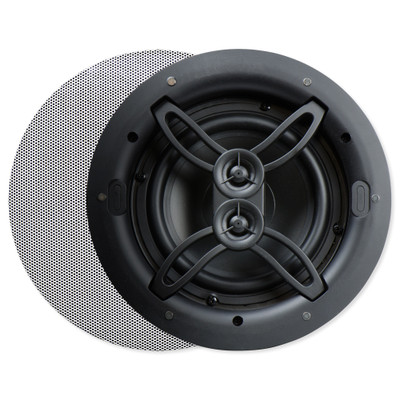 nuvo series two 6 5 in in ceiling dual voice coil speaker. Black Bedroom Furniture Sets. Home Design Ideas