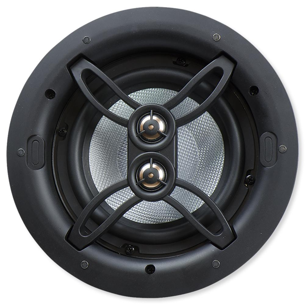 Dual Voice Coil Ceiling Speaker: Nuvo Series Four 6.5 In. In-Ceiling Dual Voice Coil Speaker