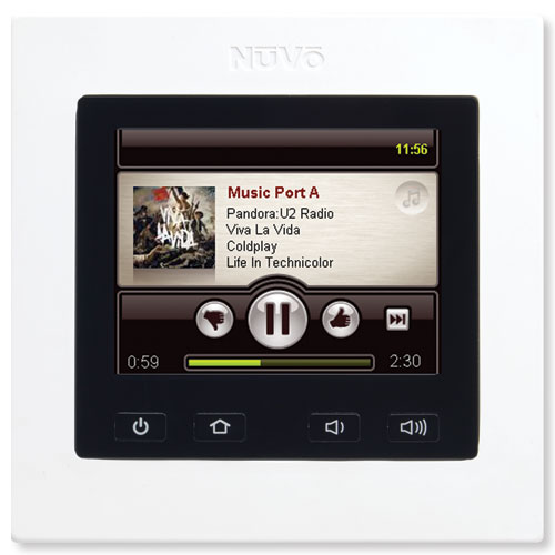 Nuvo 3.6 In. Color Touch Controller Pad, V2