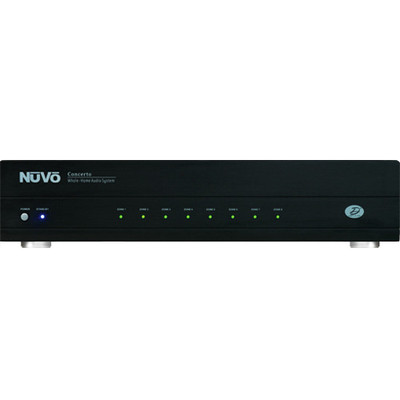 Nuvo Grand Concerto Amplifier Only, 6 Source, 8 Zones