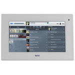 """Nuvo P30 7"""" Android PoE Touch Screen, White"""