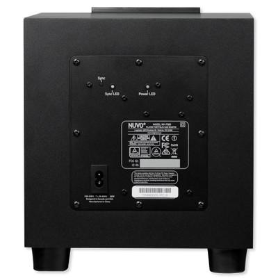 Nuvo P500 Sound Bar Amp Subwoofer Nuvo Player Portfolio