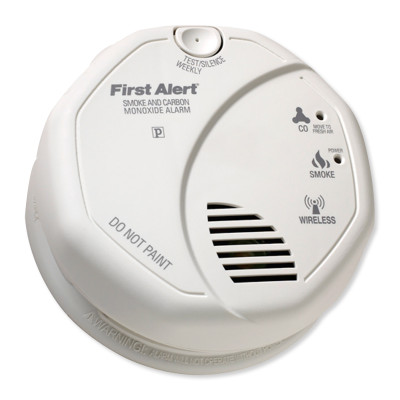 FirstAlert Z-Wave Smoke and Carbon Monoxide Detector