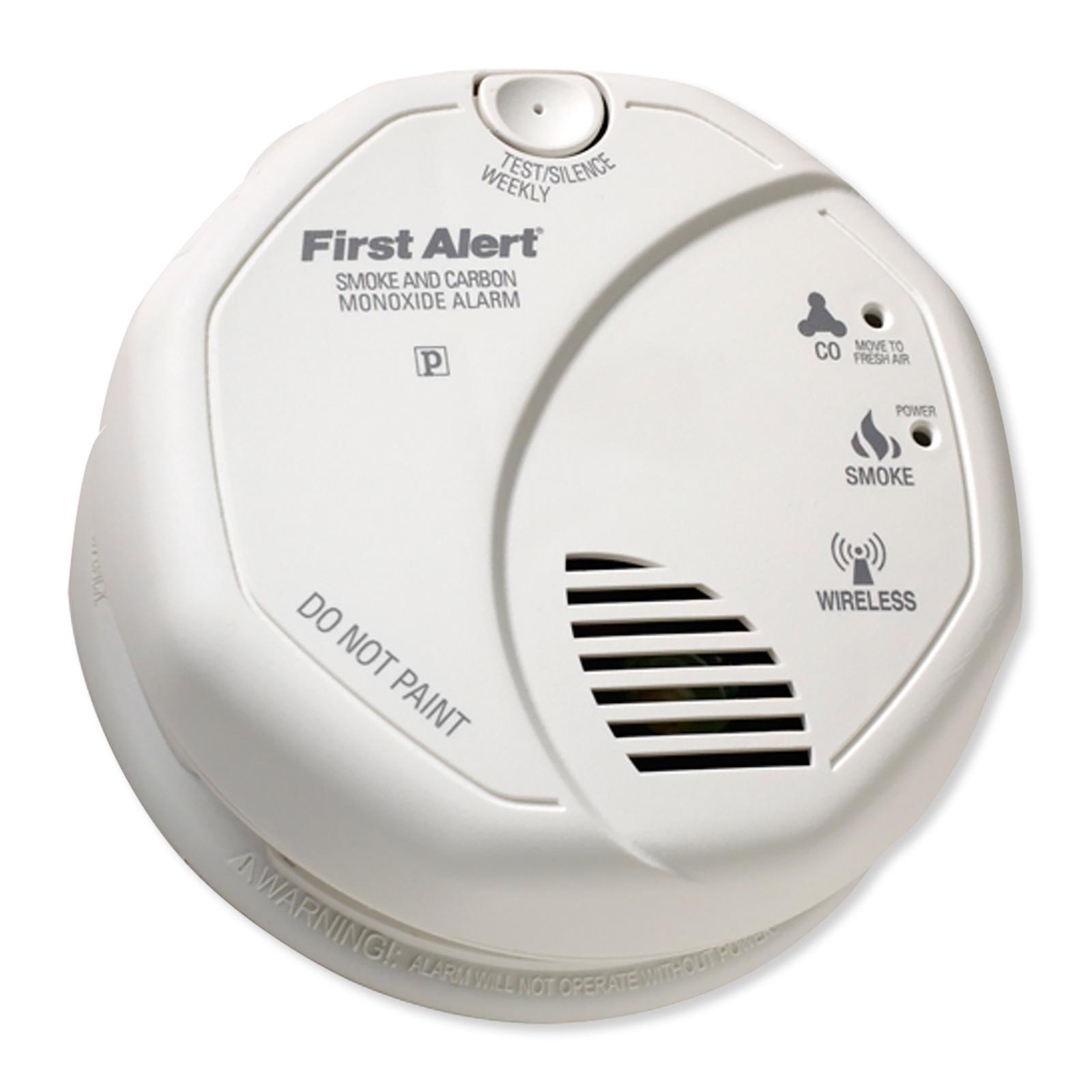 firstalert z wave smoke and carbon monoxide detector. Black Bedroom Furniture Sets. Home Design Ideas