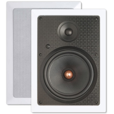 Presence 8 In. In-Wall Speakers, 2-Way