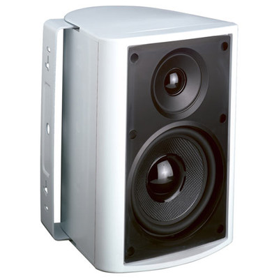 Endeavor 5.25 In. In/Outdoor Speaker, 2-Way, Kevlar Woofer, White
