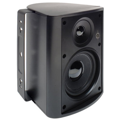 Endeavor 5.25 In. In/Outdoor Speaker 2-Way Poly Woofer, 70-100 Volt, 8 ohms (Single), Black