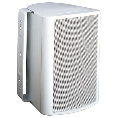 Endeavor 5.25 In. In/Outdoor Speaker 2-Way Poly Woofer, 70-100 Volt, 8 ohms (Single), White