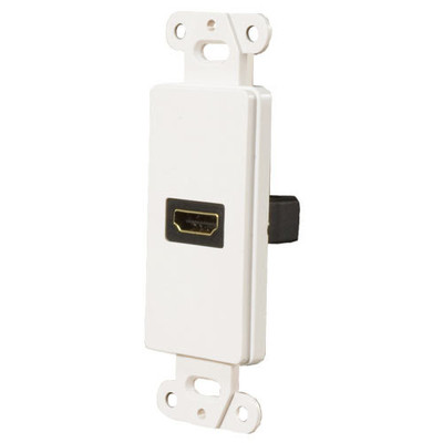 OEM Systems Pro-Wire Jack Plate (1 HDMI), White