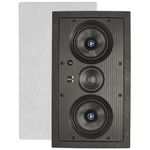 Preference Dual 5.25 In. In-Wall LCR Frameless Speaker, 2-Way, Single