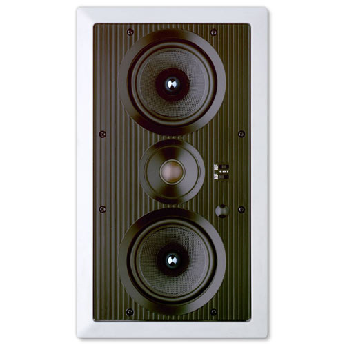 Preference Dual 5.25 In. In-Wall Center LCRS Speaker, 2-Way