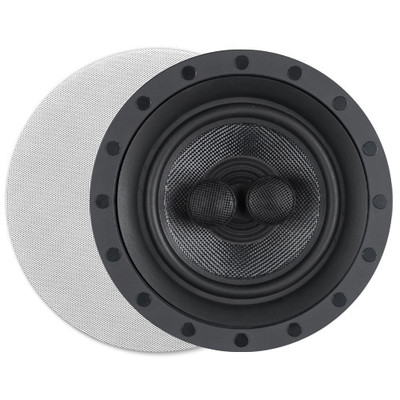 Preference K-62d 6.5 In. Single Point Stereo In-Wall/Ceiling Frameless Speaker