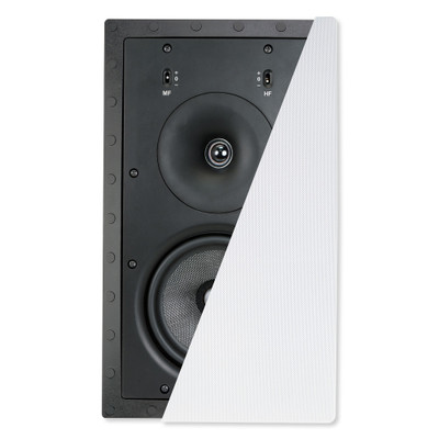 Preference 6.5 In. In-Wall LCRS Frameless Speaker, 2-Way (Single)