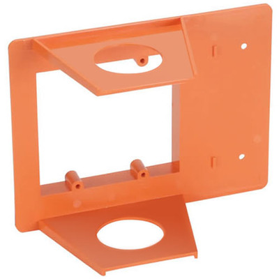 OEM Systems Pro-Wire Buddy Box Low-Voltage Mounting Bracket, 2-Gang, 1 In.