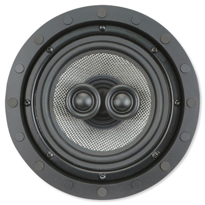 Presence Elite 6.5 In. Single-Point Stereo In-Ceiling/Wall Frameless Speaker, 2-Way (Single)