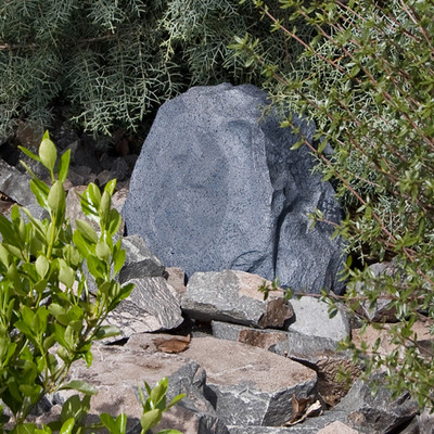 OEM Systems Sound Terrain Rock Speaker, Gray