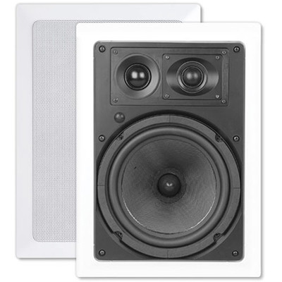 OEM Systems ArchiTech Kevlar 8 In. In-Wall Speakers, 3-Way