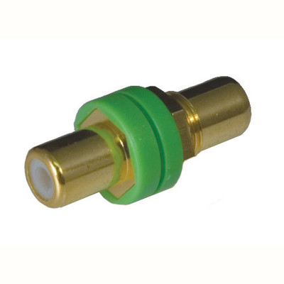OEM Systems Pro-Wire RCA Modular Connector, Green