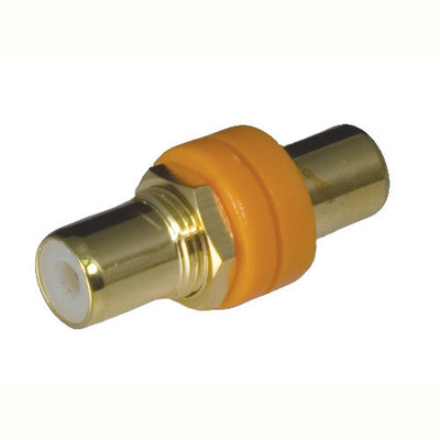 OEM Systems Pro-Wire RCA Modular Connector, Orange