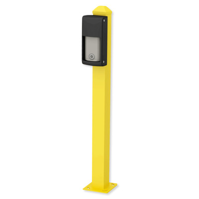 Optex 28 In. Mini Post for Road Mounting OVS Series, Yellow
