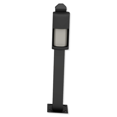 Optex 21 In. Mini Post for Curb Mounting OVS Series, Black