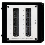 On-Q/Legrand 12-Port Cat6 Network Interface Module