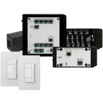 On-Q/Legrand Digital Audio 2 Room Single Source Kit