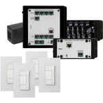 On-Q/Legrand Digital Audio 4 Room Single Source Kit