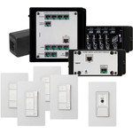 On-Q/Legrand Digital Audio 4 Room Multi Source Kit