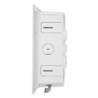 On-Q/Legrand Dual-Purpose In-Wall Enclosure with 5-in Mounting Plate, 9 In.