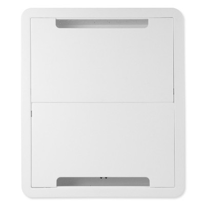 On-Q/Legrand Dual-Purpose In-Wall Enclosure with 5-in Mounting Plate, 17 In.