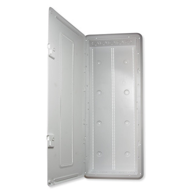 On-Q/Legrand Plastic Enclosure With Hinged Door and Trim, 42 In.