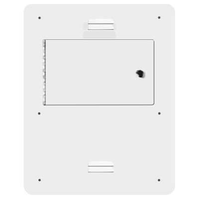 On-Q/Legrand Large Hinged Metal Cover With Latch For F7506