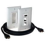 On-Q/Legrand HDMI Premium In-Wall Connection Kit