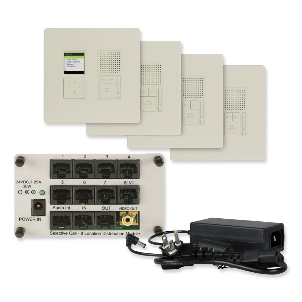 Wired Home Intercom Systems Residential - WIRE Center •