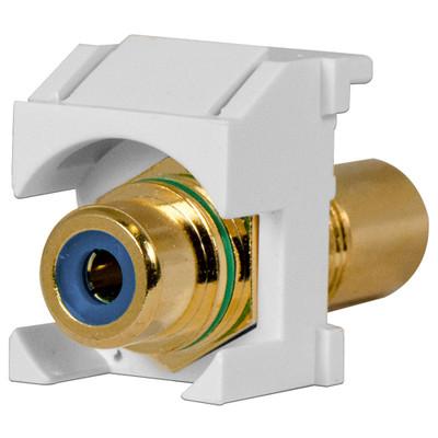 On-Q/Legrand RCA Keystone Snap-In Connector