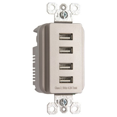 TradeMaster 4-Port USB Charger