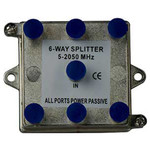 On-Q/Legrand 6-Way Vertical Coax Splitter, 2 GHz