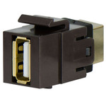 On-Q/Legrand USB Coupler Keystone Snap-In Connector