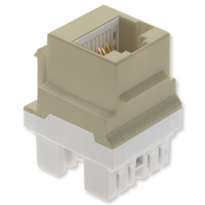 On-Q/Legrand Keyed Cat5e Keystone Snap-In Connector