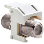 On-Q/Legrand Recessed F Keystone Snap-In Connector