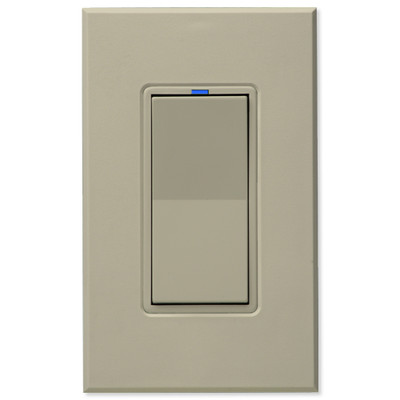 PCS HAI Wall Switch Dimmer, 600W/5A, Almond