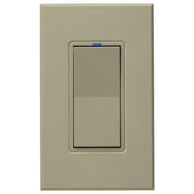 PCS HAI Wall Switch Dimmer, 600W/5A, Ivory