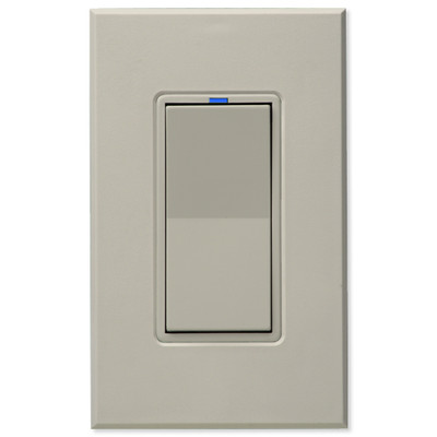 PCS HAI Wall Switch Dimmer, 600W/5A, Light Almond