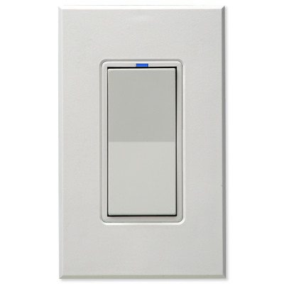 PCS HAI Wall Switch Dimmer, 600W/5A, White