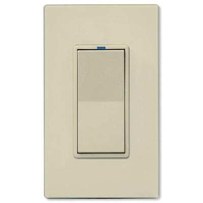 PCS PulseWorx UPB LED/CFL Dimmer Wall Switch, 1,000W, Almond
