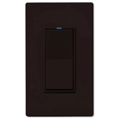 PCS PulseWorx UPB LED/CFL Dimmer Wall Switch, 1,000W, Brown