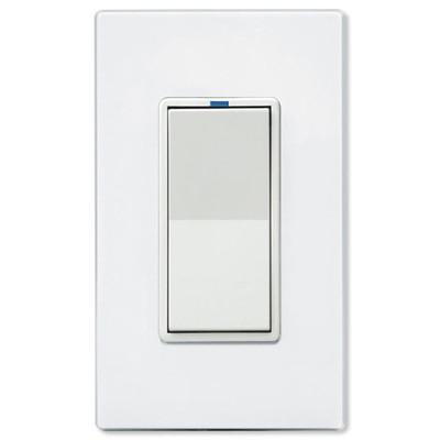 PCS PulseWorx UPB LED/CFL Dimmer Wall Switch, 1,000W, White